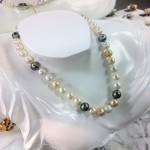 真珠のネックレス